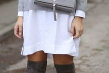White overknee boots