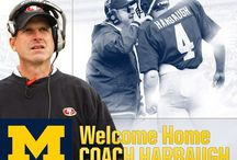 University of Michigan / Football! Go Blue!