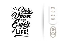 SVG Cut File / Lettering, calligraphy, quotes and SVG Cut Files.  Graphic resources.