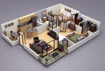 3d floor plan for home