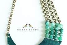 Urban Birds - handmade accessories