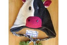 bonnets en tricot milou