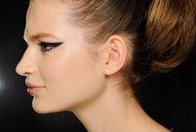 Fashion Week AW 2013 / Make-up and hair - Fashion Week AW 2013