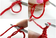 Crochet magic ring