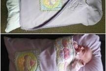 Herlige soveposer til baby