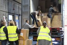 We Love Containers / Ever wondered how our stock arrives. Well here's a few pictures of our team emptying containers in the warehouse.