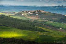 Мастер-класс по пейзажу в Тоскане