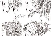 Рефы волосы