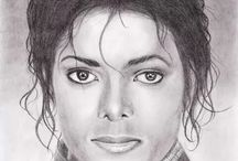 MJ / Michael Jackson The King Of Pop / by Nadine Rody