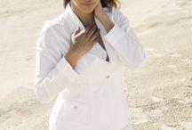 Fatima Morken for La Cotonnière / French Brand of 100% Organic Cotton Beachwear & Casual Wear