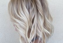 Blonde hair / Beautiful blondes with different levels of dimensions and tones.