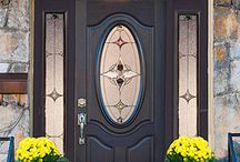 Decorative Entry Door Glass