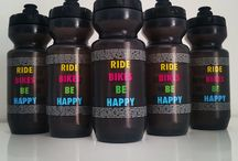 RIDE BIKES BE HAPPY bidon