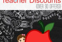 Free Stuff and Hacks for Teachers / by Kimmy Smith