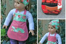 American Girl doll Aprons / by Margaret Johnson