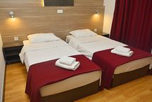 Hotel D KOKA Twin Room / Standard double rooms offer a perfect retreat a midst the hustle and bustle of the City. Featuring new design, free Wi-Fi internet, Samsung Smart TV. So whether you're in Skopje travelling on business or staying for pleasure you'll find everything you need for a relaxing and enjoyable stay.