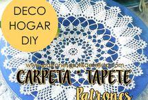 Tapetes * Carpetas * Centros de Mesa * Caminos de Mesa