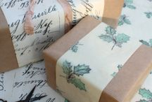 DIY: Gift-wrapping / Beautiful gift-wrapping inspiration!