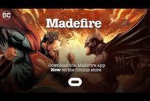 Madefire- Digital Comics Startup launches its First VR App