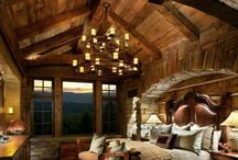 Log home ❤️ / One day, Ill have one..