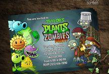 plants vs zombies party