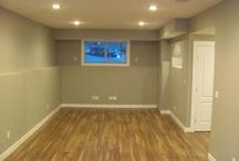 Finish that basement! / Basement, family room, storage / by Patti Muma