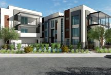 Our Projects: MZ2 / Coming soon, May 2017  MZ2 is the second phase of the much-acclaimed MZ townhome project. This 11-unit development has the same desirable Downtown Scottsdale location, contemporary design, and color scheme as the first phase of MZ. It also takes energy efficiency to the next level with new technology, more outdoor space and patios, and a community swimming pool.