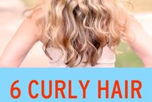 Curly hair stuggles