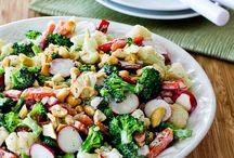 salad recipes / by Tami
