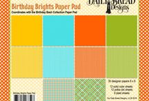 ODBD Birthday Brights Paper Pad