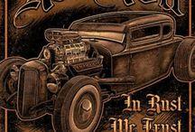 Carteles Vintage Garage