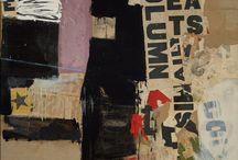 ART-RAUSHENBERG / The art of Robert Raushengerg