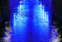 My Photography - Nakameguro Blue Grotto Illumination 2014 Tokyo - 中目黒 青の洞窟 / Photography : Copyright © Yuji Kudo http://www.yujikudo.com/