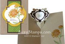 Fancy Fold Cards / Kim Tolton Independent Stampin' Up! Demonstrator UK. email: kim.Tolton@googlemail.com Blog: http://stampingatthewarren.blogspot.co.uk/  Tel: 07759587004 Copyright @ Stampin Up! 2014