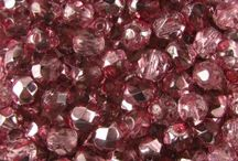 Fire Polish Beads / Fire polish beads from the Czech Republic