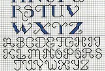 alfabety krzyżyki