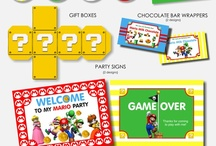 Mario Bros Birthday Party / A collection of Mario Brothers birthday party ideas and resources.