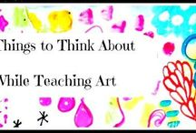 On Teaching art / by Alison Lotterstein