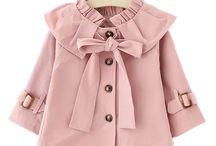 Moda de bebê menina