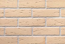 Futura Brick-slips / Facing brick-slips. A work of art in just 15 mm. Futura is a new generation facing brick-slip obteined with the most advanced manufacturing technology from rare selected clays: it is thin, very resistant, frost-free and light, suitable for all kinds of indoor or outdoor use.   The Futura brick-slips are so light that they are particularly suitable to be used on exterior insulation systems.  The corner shape is available for the whole range.