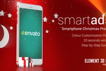 smartAds Smartphone Christmas / Ideas for awesome Commercials