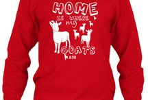 Most Popular Goat Shirts / As you know,  I create t-shirts  in particular for goat lovers -  these are the most well loved shirts - posting in time for the Holidays - if you are looking for a goat lover's gift - it will be here  :)  / by goatlady GetYerGoat