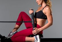 Rowing machine workout for glutes