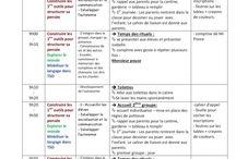 journal, semainier, plannification