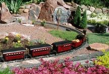 garden trains / by Jacky Zapf