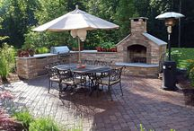 Home/ outdoor living / Fireplace & kitchen