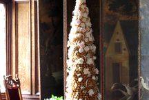 Croquembouche French Profiterole Wedding Cakes