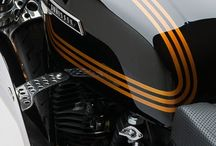 Motorbike paint