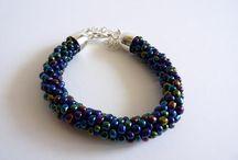 I made... beading, bracelets