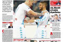 Corriere dello Sport Prima Pagina Edizione Campania / Prima Pagina Corriere dello Sport dedicate al Napoli Calcio